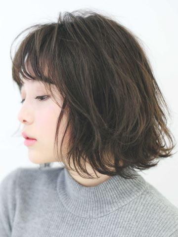 くせ毛を生かした髪型,ボブ,アレンジ方法
