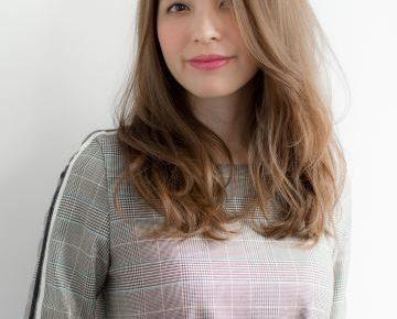 髪型 40代 女性 ロング
