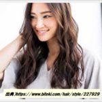 30代に人気の髪型は女性らしいロングヘアパーマのオーダー方法について