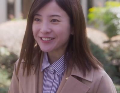 吉高由里子のドラマ「正義のセ」では髪型が誠実さ満点の
