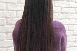 髪型 40代 ロング パーマ