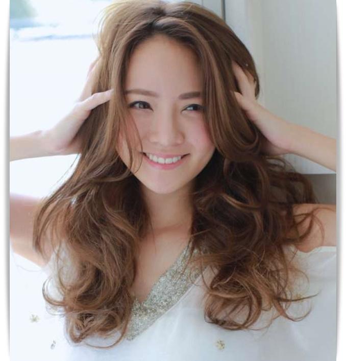 30代 髪型 ロング パーマ