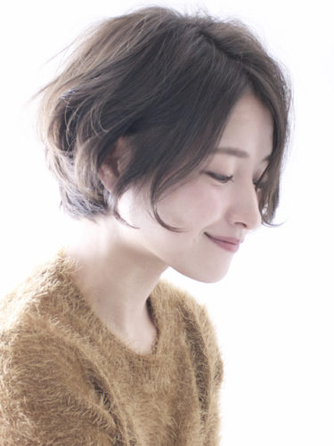 30代 女性 髪型 ショート パーマ アレンジ